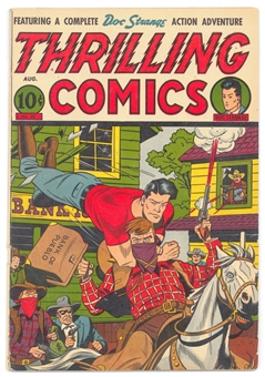 Thrilling Comics #55 VG/FN
