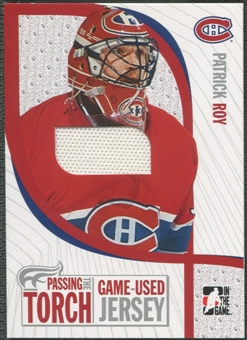 2005 ITG #PTT7 Patrick Roy Passing the Torch Memorabilia Jersey /100