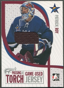 2005 ITG #PTT11 Patrick Roy Passing the Torch Memorabilia Jersey /100