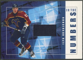 2001/02 BAP Signature Series #ITN2 Ilya Kovalchuk In The Numbers Patch /10