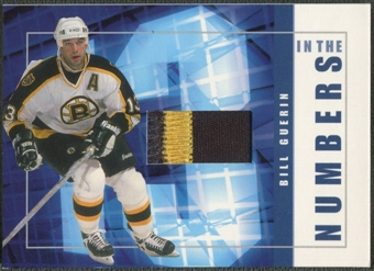 2001/02 BAP Signature Series #ITN4 Bill Guerin In The Numbers Patch /10