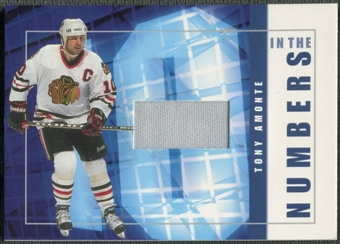 2001/02 BAP Signature Series #ITN12 Tony Amonte In The Numbers Patch /10