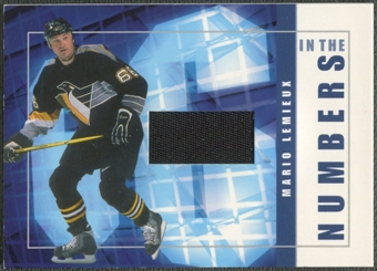 2001/02 BAP Signature Series #ITN13 Mario Lemieux In The Numbers Patch /10