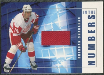 2001/02 BAP Signature Series #ITN18 Brendan Shanahan In The Numbers Patch /10