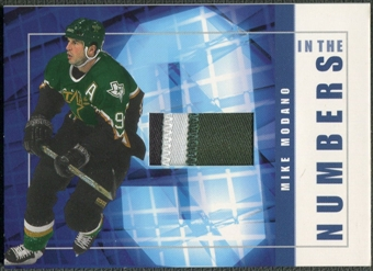 2001/02 BAP Signature Series #ITN19 Mike Modano In The Numbers Patch /10