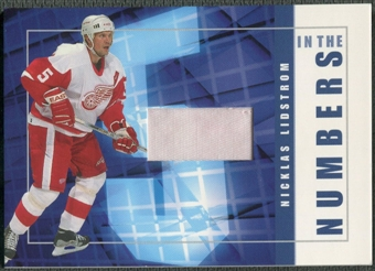 2001/02 BAP Signature Series #ITN21 Nicklas Lidstrom In The Numbers Patch /10