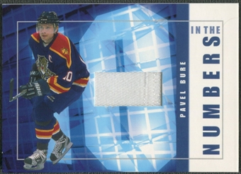 2001/02 BAP Signature Series #ITN26 Pavel Bure In The Numbers Patch /10