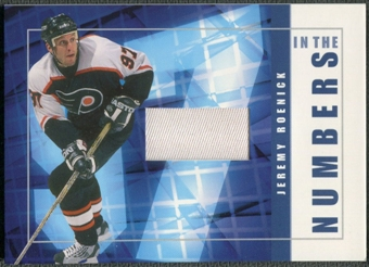 2001/02 BAP Signature Series #ITN29 Jeremy Roenick In The Numbers Patch /10