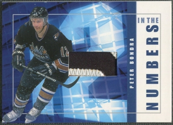 2001/02 BAP Signature Series #ITN32 Peter Bondra In The Numbers Patch /10