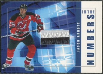 2001/02 BAP Signature Series #ITN35 Jason Arnott In The Numbers Patch /10