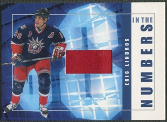 2001/02 BAP Signature Series #ITN36 Eric Lindros In The Numbers Patch /10