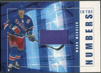 2001/02 BAP Signature Series #ITN38 Mark Messier In The Numbers Patch /10