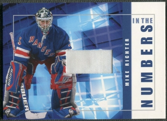 2001/02 BAP Signature Series #ITN39 Mike Richter In The Numbers Patch /10