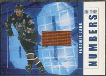 2001/02 BAP Signature Series #ITN43 Jaromir Jagr In The Numbers Patch /10