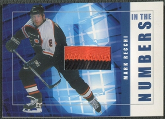 2001/02 BAP Signature Series #ITN47 Mark Recchi In The Numbers Patch /10