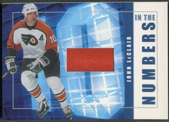 2001/02 BAP Signature Series #ITN48 John LeClair In The Numbers Patch /10
