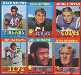 1971 Topps Football Complete Set (NM-MT)