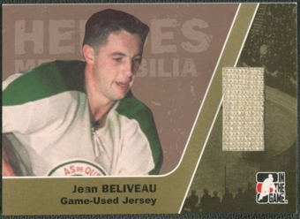 2006/07 ITG Heroes and Prospects #HM15 Jean Beliveau Heroes Memorabilia Gold Jersey /10