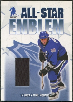 2003/04 BAP Memorabilia #ASE1 Mike Modano All-Star Emblem /10