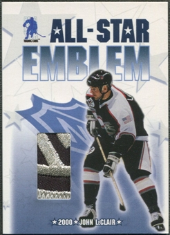 2003/04 BAP Memorabilia #ASE18 John LeClair All-Star Emblem /10
