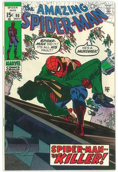 Amazing Spider-Man #90 FN/VF