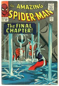 Amazing Spider-Man #33 FN