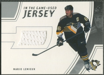 2002/03 In The Game-Used #GUJ1 Mario Lemieux Jersey /75