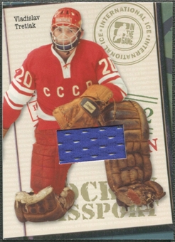 2006/07 ITG International Ice #HP02 Vladislav Tretiak Passport Gold Jersey /10