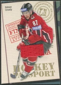 2006/07 ITG International Ice #HP12 Sidney Crosby Passport Gold Jersey /10
