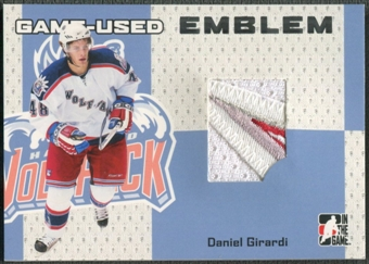 2006/07 ITG Heroes and Prospects #GUE04 Daniel Girardi Game-Used Emblem /30