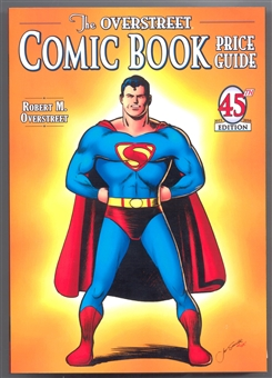 The Overstreet Comic Book Price Guide #45 (Superman Softcover)