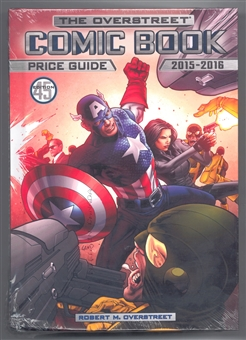 The Overstreet Comic Book Price Guide #45 (Captain America Hardcover)