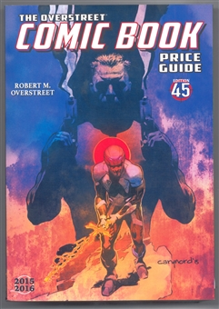 The Overstreet Comic Book Price Guide #45 (Bloodshot Softcover)