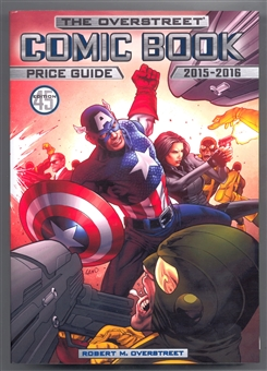 The Overstreet Comic Book Price Guide #45 (Captain America Softcover)
