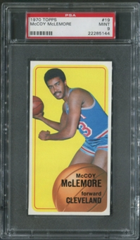 1970/71 Topps Basketball #19 McCoy McLemore PSA 9 (MINT)