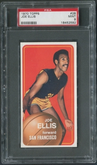 1970/71 Topps Basketball #28 Joe Ellis PSA 9 (MINT)