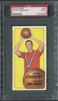 1970/71 Topps Basketball #51 Kevin Loughery PSA 9 (MINT)