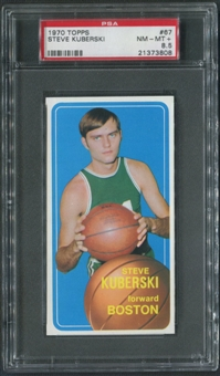 1970/71 Topps Basketball #67 Steve Kuberski Rookie PSA 8.5 (NM-MT+)