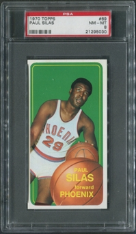 1970/71 Topps Basketball #69 Paul Silas PSA 8 (NM-MT)
