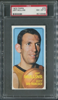 1970/71 Topps Basketball #76 Jeff Mullins PSA 8 (NM-MT)