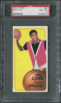 1970/71 Topps Basketball #84 Bob Love PSA 8 (NM-MT)