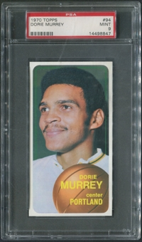 1970/71 Topps Basketball #94 Dorie Murrey PSA 9 (MINT)