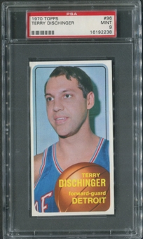 1970/71 Topps Basketball #96 Terry Dischinger PSA 9 (MINT)