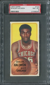 1970/71 Topps Basketball #127 Shaler Halimon PSA 8 (NM-MT)