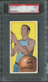 1970/71 Topps Basketball #128 Don Ohl PSA 9 (MINT)