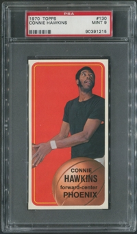 1970/71 Topps Basketball #130 Connie Hawkins PSA 9 (MINT)