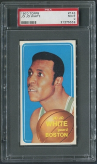 1970/71 Topps Basketball #143 Jo Jo White Rookie PSA 9 (MINT)
