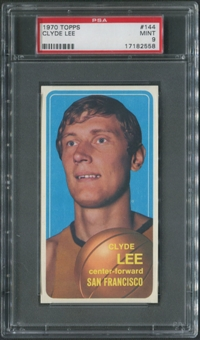 1970/71 Topps Basketball #144 Clyde Lee PSA 9 (MINT)