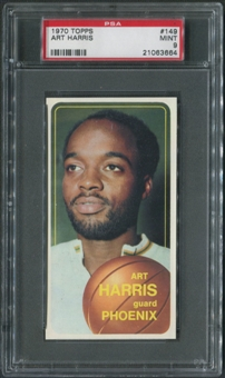 1970/71 Topps Basketball #149 Art Harris PSA 9 (MINT)