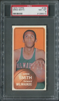 1970/71 Topps Basketball #166 Greg Smith PSA 8 (NM-MT)